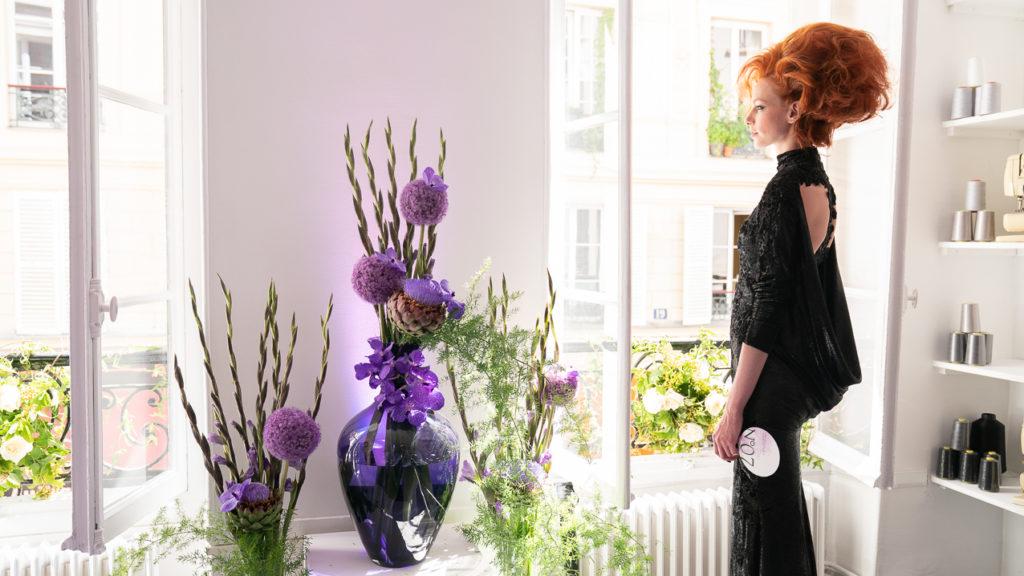 Eymeric François-Défilé dans son atelier- juillet 2019